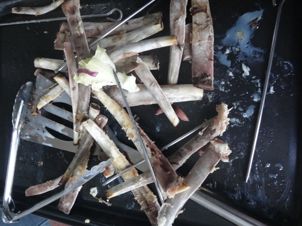 Lamb ribs, bones, recipe, BBQ