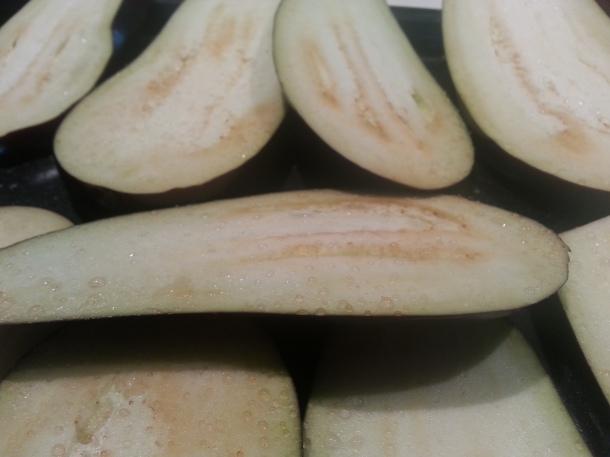 Eggplant, aubergine parmigiana, recipe, Italian