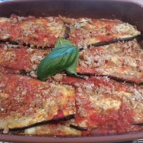 Eggplant (aubergine) parmigiana