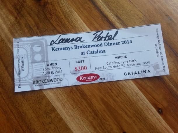 Catalina, Rose Bay, restaurant, menu, review