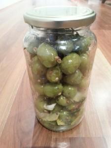 Marinated olives, recipe, garlic, chilli, herbs, Silician, Kalamata
