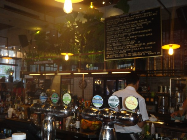 The Morrison Bar & Oyster Room, Sydney, review, restaurant, Sean Connolly
