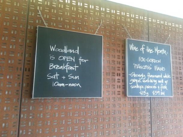 Woodland Kitchen & Bar, Neutral Bay, lunch, dinner, restaurant, review