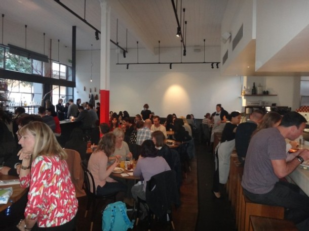 Cumulus Inc, Melbourne, cafe, restaurant, CBD, lunch, dinner, breakfast, Flinders Lane, review