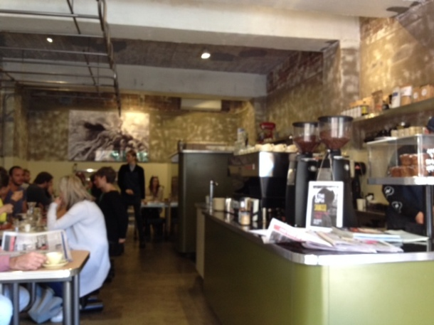 Showbox Coffee Brewers, Manly, coffee, menu, cafe, review