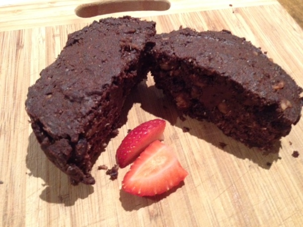 Sugar free nutty jaffa brownies, recipe, chocolate