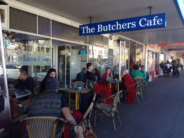 The Butchers Cafe, Fairlight, menu, opening hours