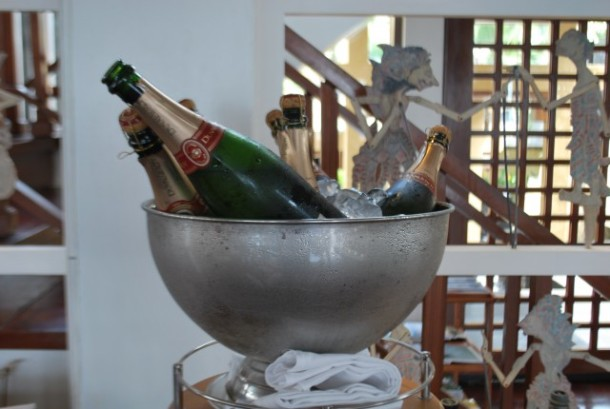 Sunday, Champagne, Brunch, at Kayuputi restaurant, Bali, Nusa Dua