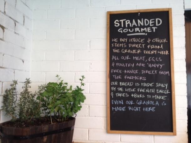 Stranded Gourmet Cafe, Mosman