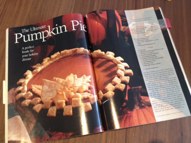 Pumpkin pie recipe for thanksgiving