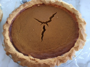 The 'Ultimate Pumpkin Pie' recipe – for my firstThanksgiving