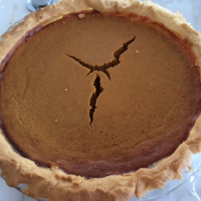 The 'Ultimate Pumpkin Pie' recipe – for my first Thanksgiving