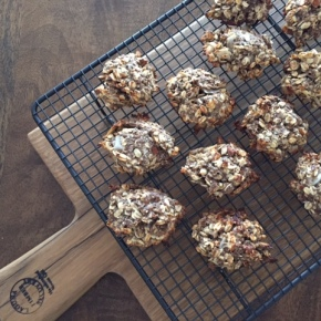 A recipe for healthy banana & oatcookies