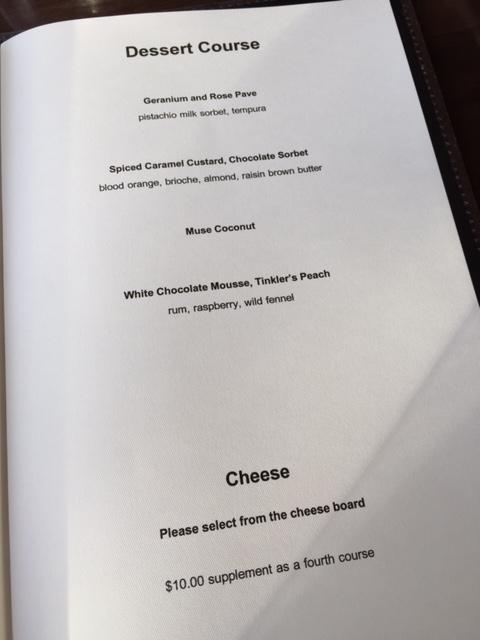 Muse Restaurant, Hunter Valley