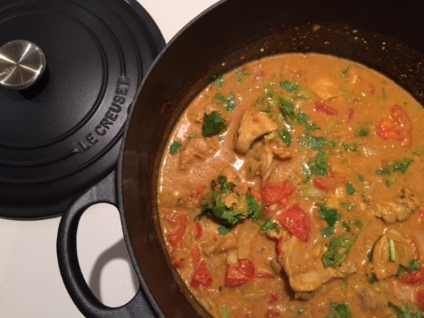 Butter chicken - a healthy Indian curry recipe