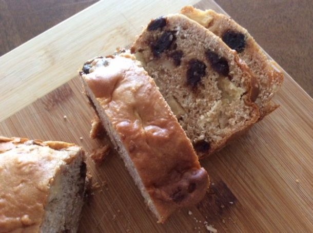 Fruit , oat and almond loaf
