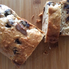 Kate's fruit, oat & nut loaf