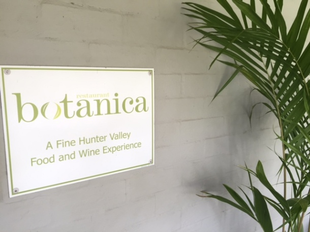 Restaurant Botanica, Hunter Valley