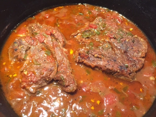 Slow-cooked beef Mexican style, recipe