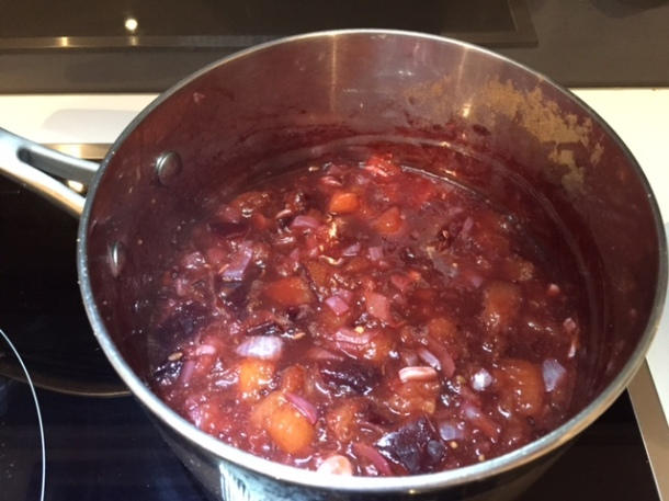 Spicy plum sauce