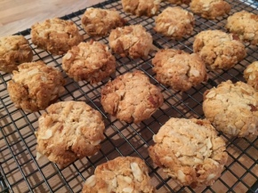 Rustic ANZAC biscuits