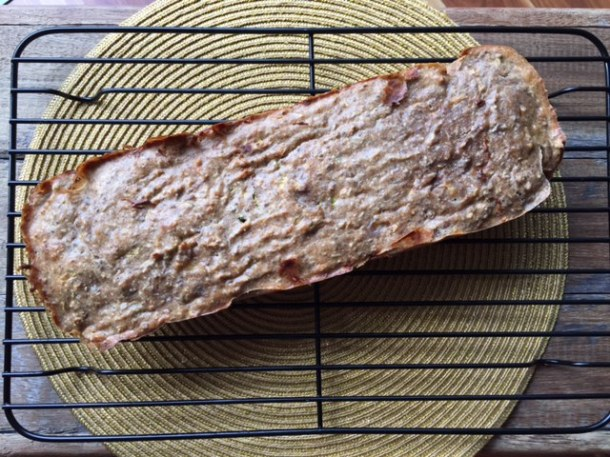 Banana bread with nuts - gluten free