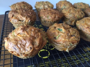 Carrot cake (or muffins) – thanks OzHarvest!