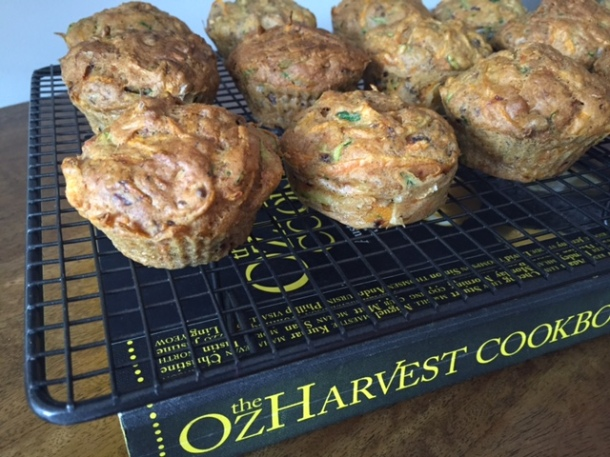 OzHarvest carrot cake (or muffins)