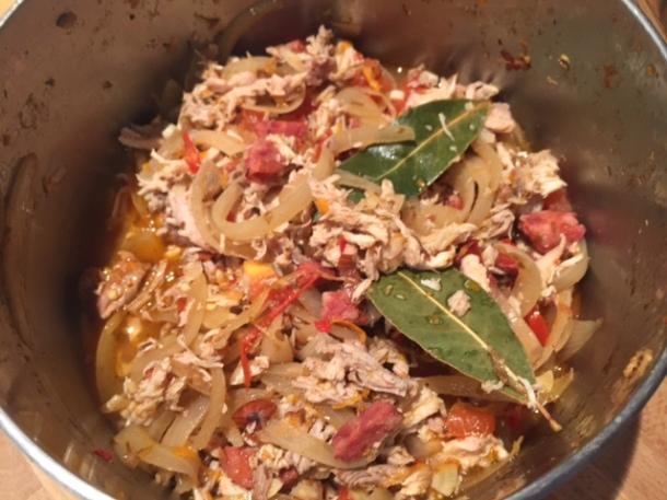 Chicken & Chorizo Mexican Mole