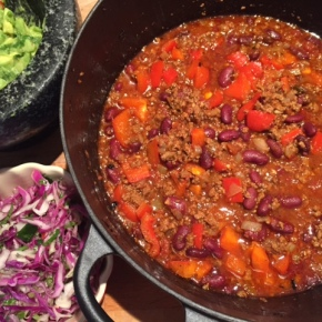 Mexican Chilli Con Carne – with a few twists