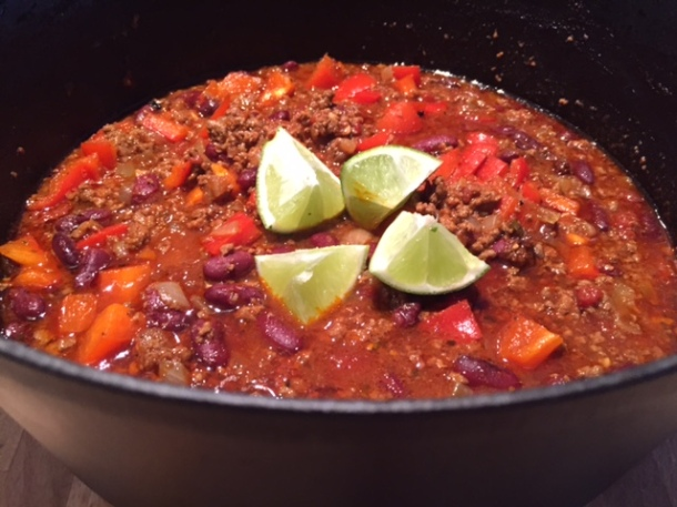 Chilli con carne - Mexican recipe