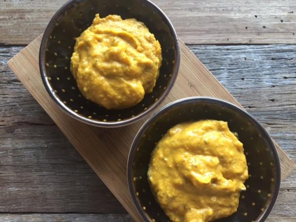 Blue cheese & Pumpkin Dip