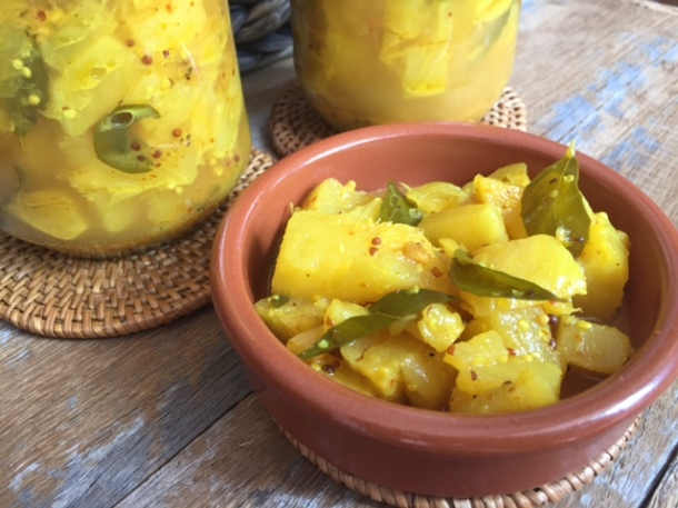 Indian Pineapple Pickle
