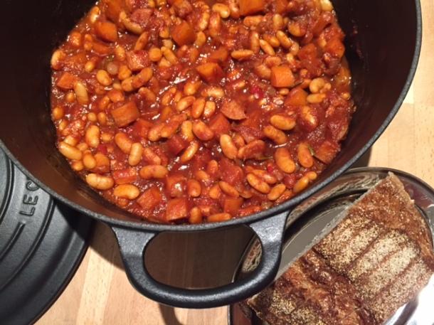 Jamie's Comfort Food Beans on Toast