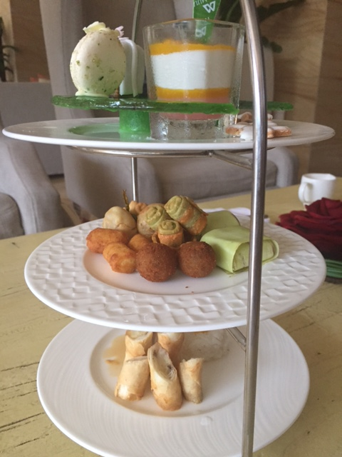 High Tea at The Mulia, Bali