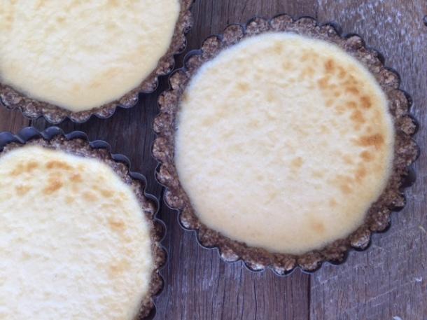 Saintly cheesecake tarts