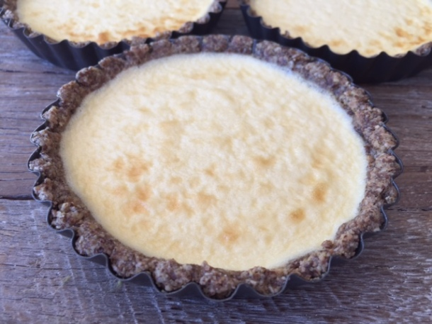 Saintly cheesecake tarts