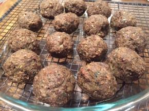 Mushroom (Meatless) Meatballs