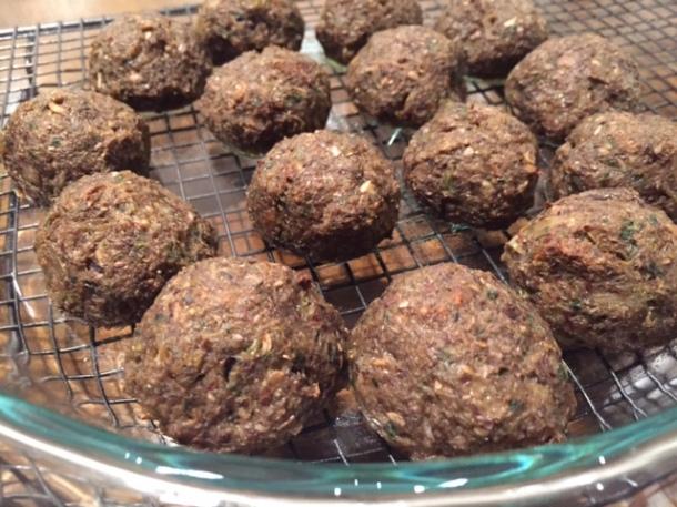 Vegetarian Mushroom Balls