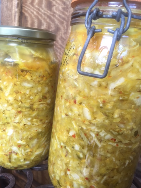 The benefits of Sauerkraut & how to make it