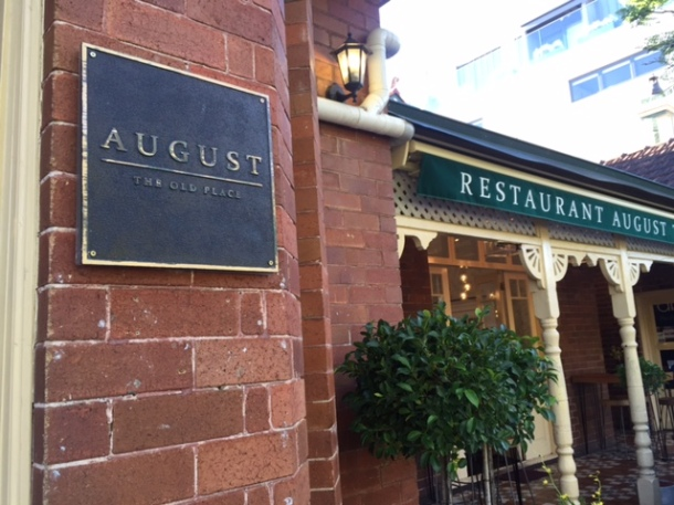August The Old Place, Mosman