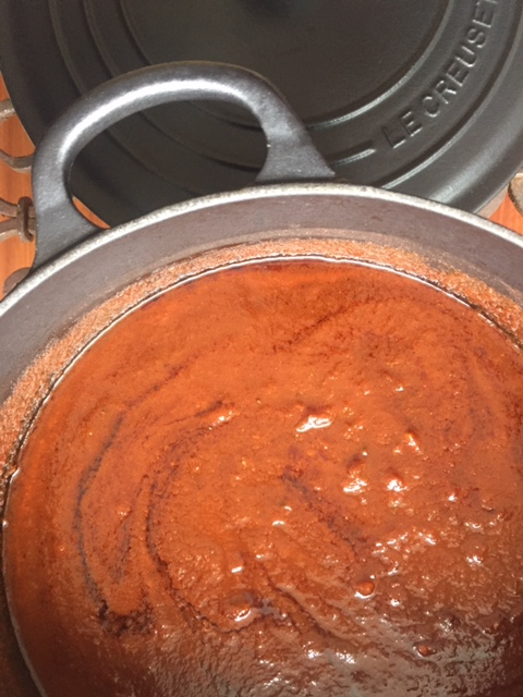 My Mexican mole sauce (vegetarian/vegan)