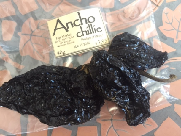 A guide to dried Mexican chillies - ancho