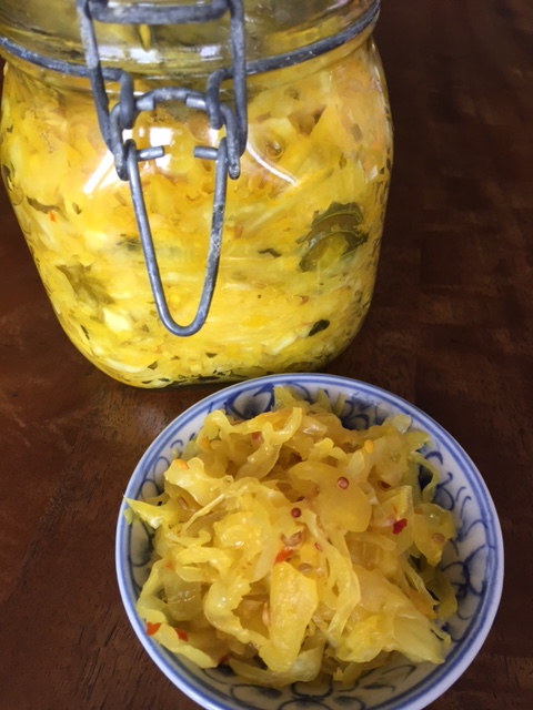 Homemade sauerkraut & spice mixes
