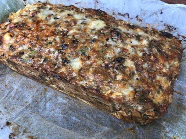 Mushroom Loaf (a veggie roast)