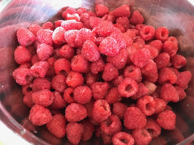 Raspberry Or Strawberry Chia Jam Feast Wisely