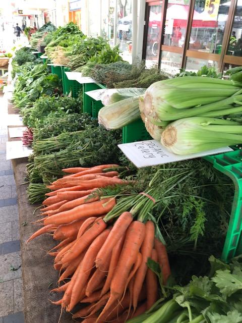 Pickled Cucumbers & Celery