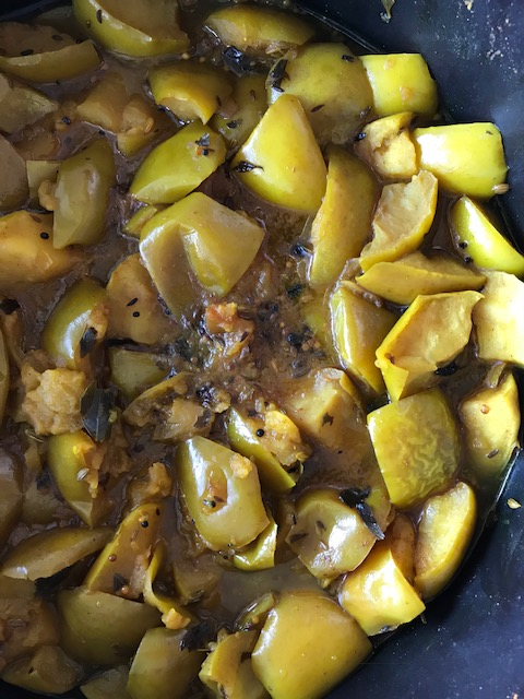 Indian Apple Chutney