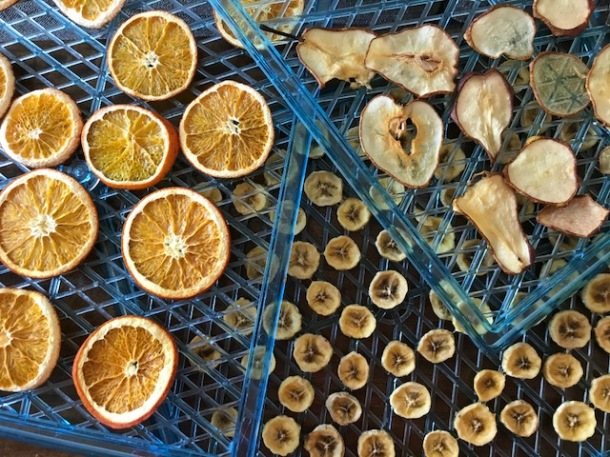 How to dry fruit (no dehydrator needed!)
