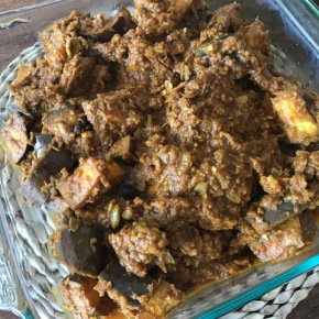 Eggplant Rogan Josh Curry